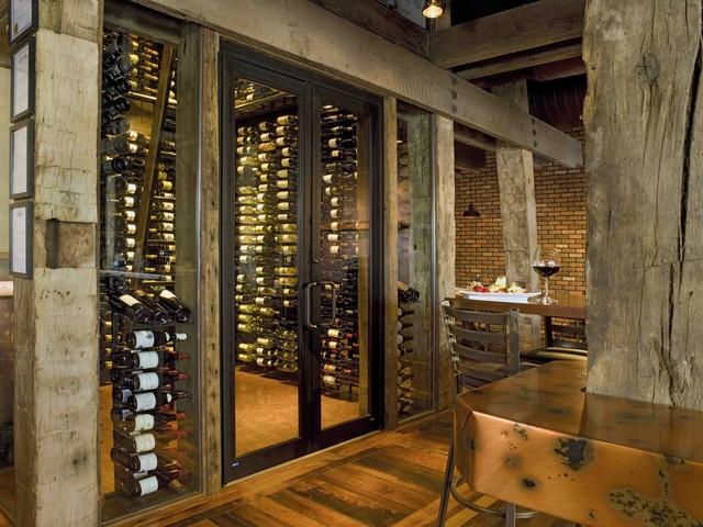 Samplings Frisco CO Rustic Wine Cellar Denver By Apropos Cool Home Wine Cellar Design