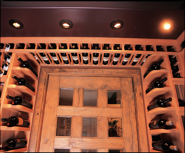 Showcase Wine Cellar traditional-wine-cellar