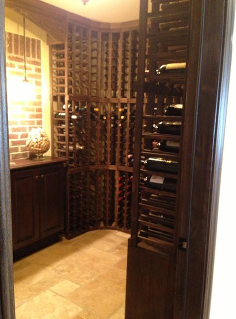 Scaccia Finish Basements traditional-wine-cellar