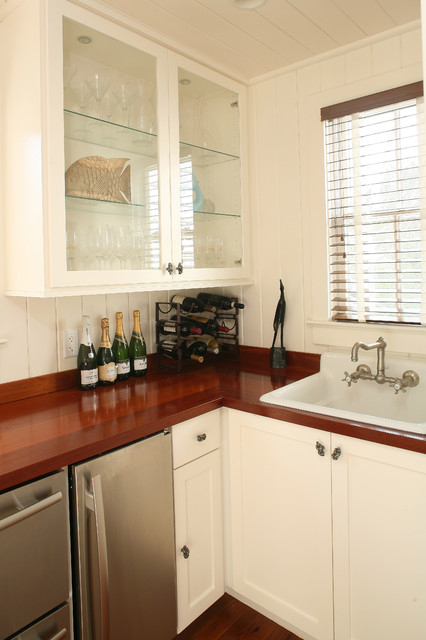 Sea Island Builders Kitchens - Wine Cellar traditional-wine-cellar