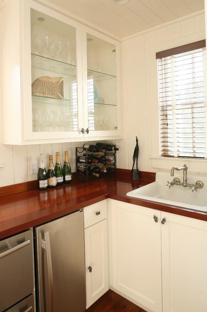 Sea Island Builders Kitchens - Wine Cellar traditional-wine-cellar