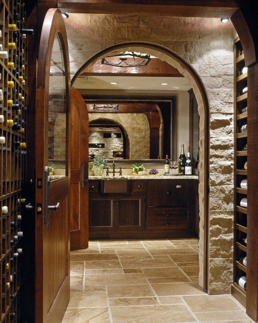 Select Projects in MA traditional-wine-cellar