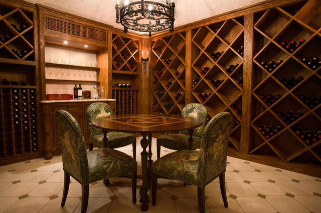 Shingle style waterfront coastal wine cellar new for Cost to build a wine cellar