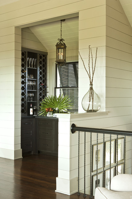 Shiplap Bar Tropical Wine Cellar Charleston By
