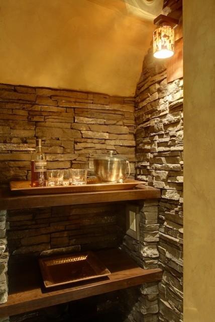 Signal Hill wine room traditional-wine-cellar
