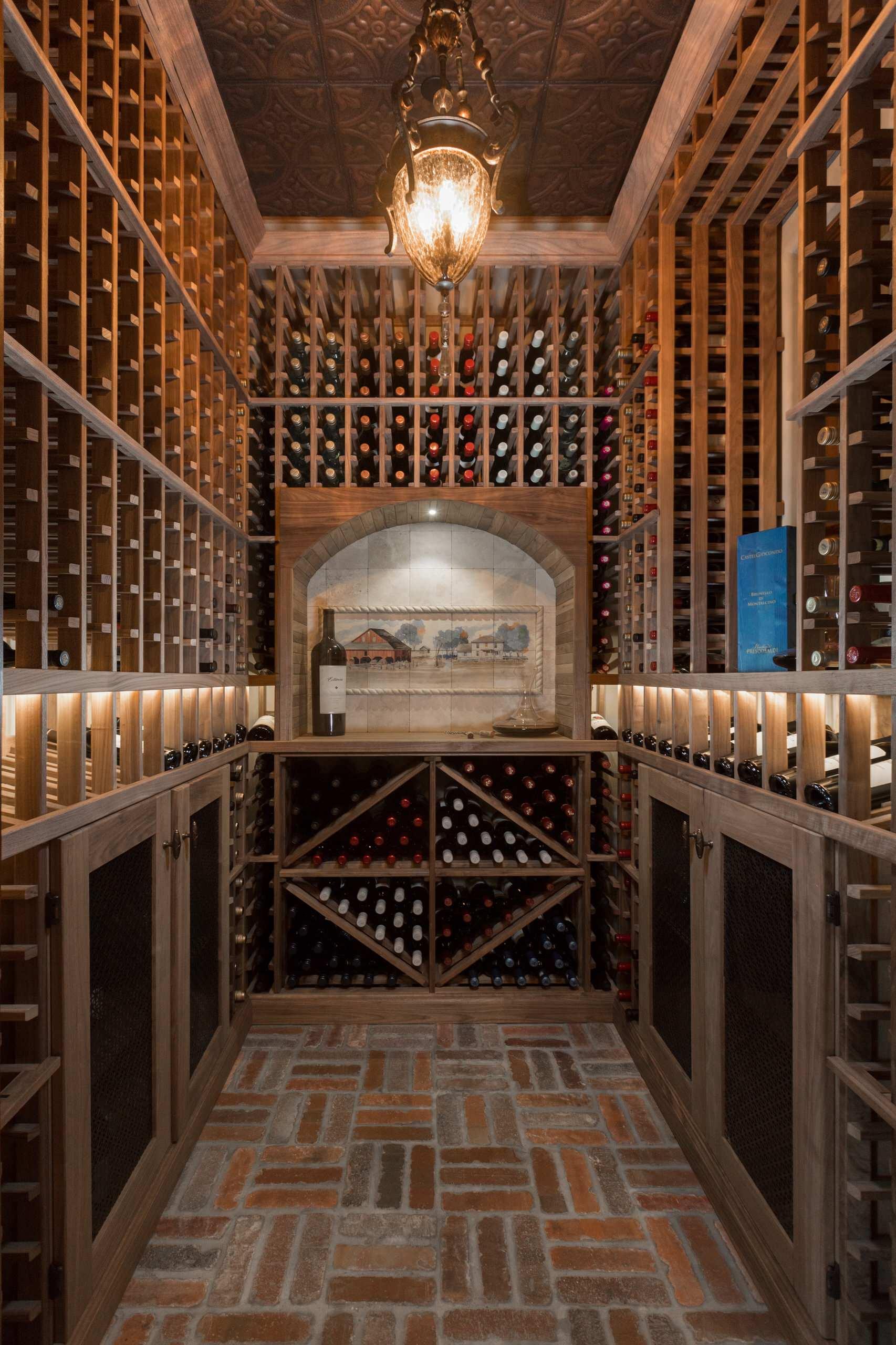 75 Beautiful Brick Floor Wine Cellar Pictures Ideas January 2021 Houzz