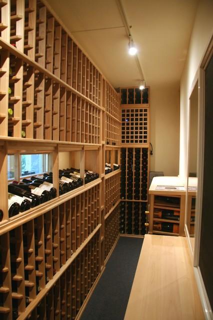 Skinny Wine Cellar traditional-wine-cellar