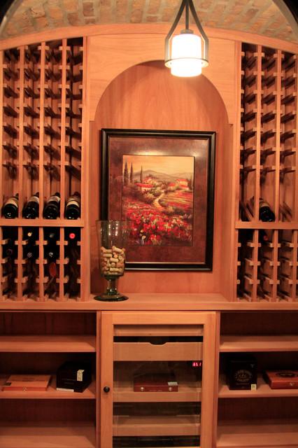 SLAM / REITZ - Traditional - Wine Cellar - columbus - by Buckeye ...