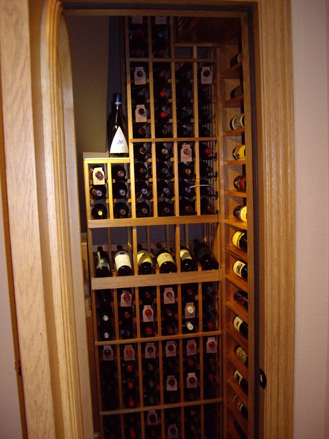 Small but Aesthetically Appealing and Highly Functional Wine Cellar ...