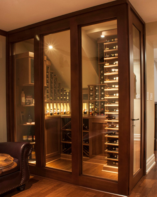 Small Space Wine Cellars by Papro Consulting - Transitional - Wine Cellar - Toronto - by Papro ...