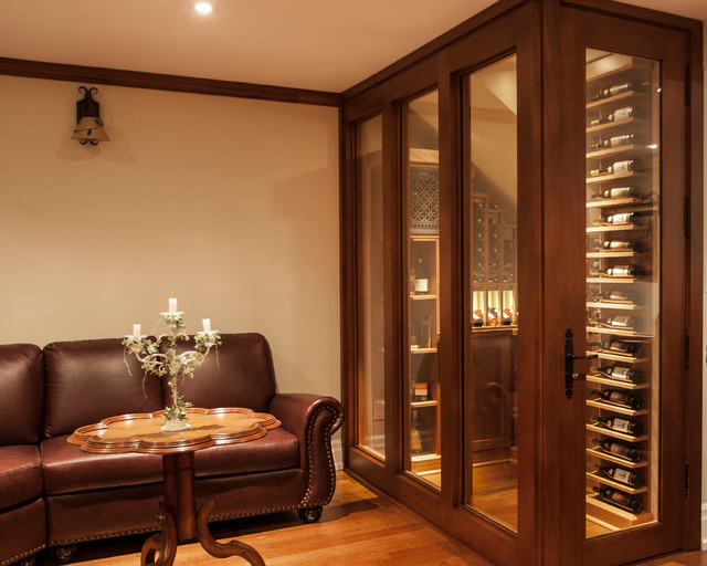 Small Space Wine Cellars by Papro Consulting transitional-wine-cellar & Small Space Wine Cellars by Papro Consulting - Transitional - Wine ...