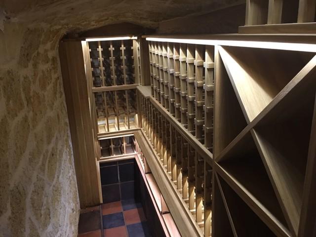 Small Underground Wine Cellar