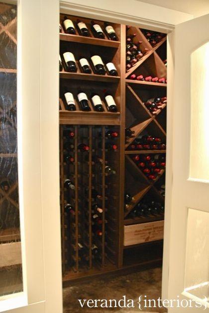 Small wine cellar