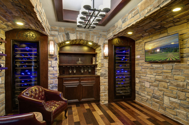 Snow Creek Basement Traditional Wine Cellar Denver