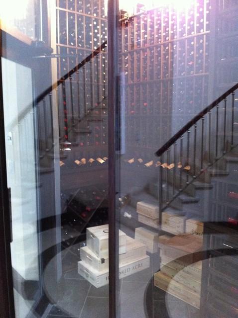 Solar Isle contemporary-wine-cellar
