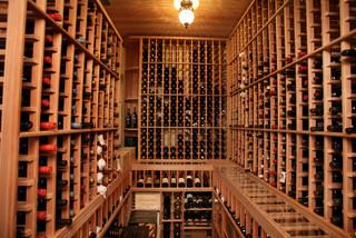 South Tampa Custom Home - Mediterranean - Wine Cellar - tampa - by Devonshire Custom Homes