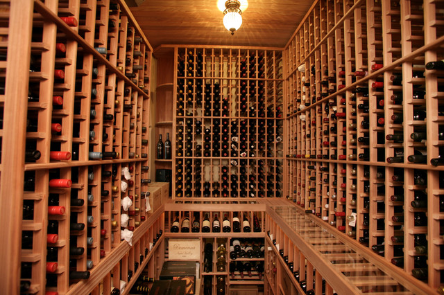 South Tampa Custom Home - Mediterranean - Wine Cellar - Tampa - by Devonshire Custom Homes