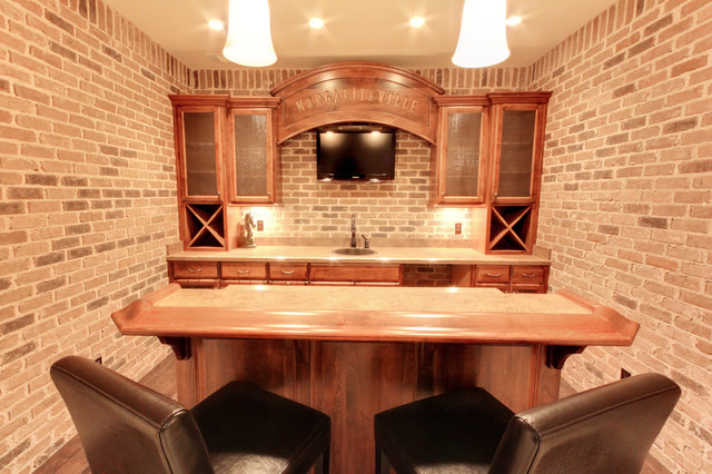Southern Living Showcase Home: The Palazzo I traditional-wine-cellar