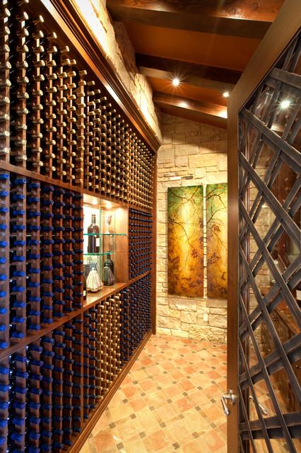 Spanish Oaks Hacienda mediterranean-wine-cellar