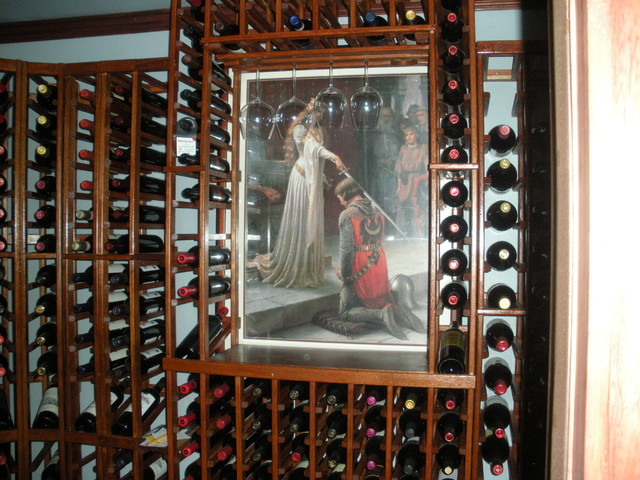 Special Construction traditional-wine-cellar
