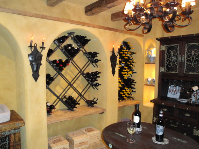 Specialty Rooms traditional-wine-cellar
