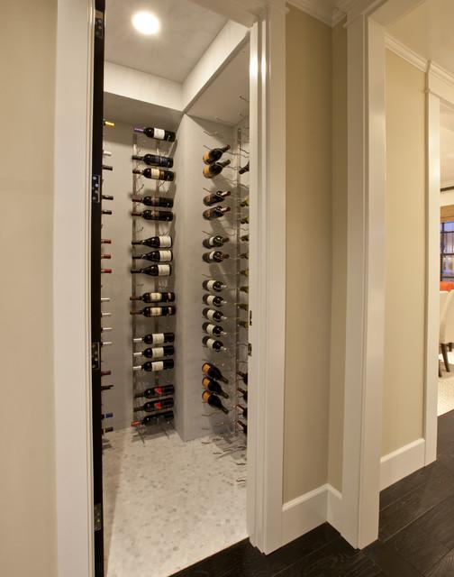 Spinnaker Development transitional-wine-cellar