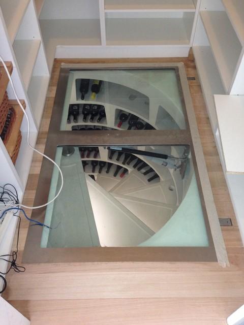 Spiral Cellars Andrew Renn modern-wine-cellar & Spiral Cellars Andrew Renn - Modern - Wine Cellar - Melbourne - by ...