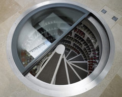 Spiral Wine Cellar contemporary-wine-cellar