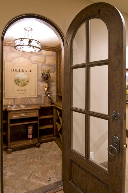 Spur Road - Edina, MN traditional-wine-cellar