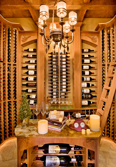 Stand Alone Home Traditional Wine Cellar Austin By