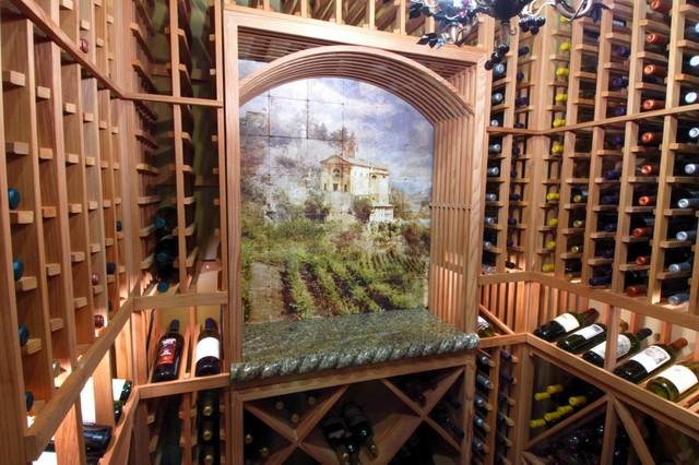 Stoneimpressions mediterranean-wine-cellar