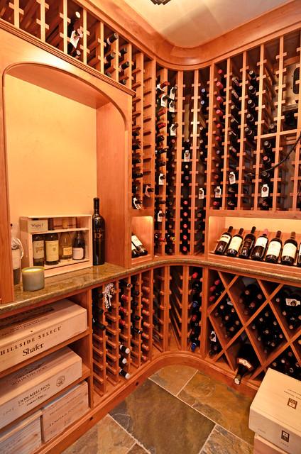 Sugarwoods Project | Wine Cellar traditional-wine-cellar