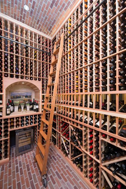 Sweetwater wine cellar - Traditional - Wine Cellar - phoenix - by ...