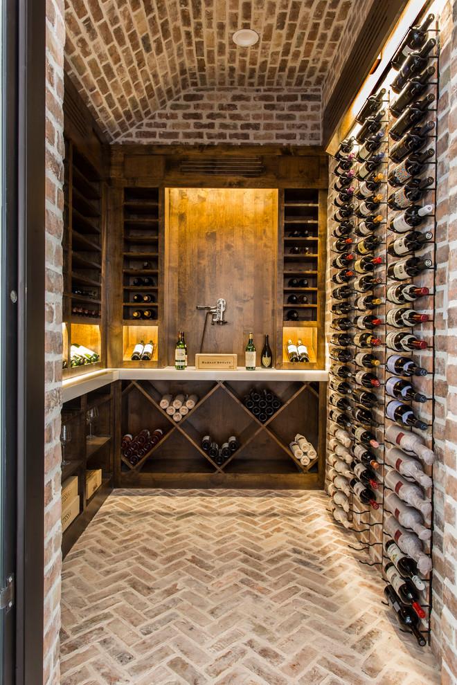 Meadowick - Mediterranean - Wine Cellar - Houston - by ... |Wine Cellar Houston