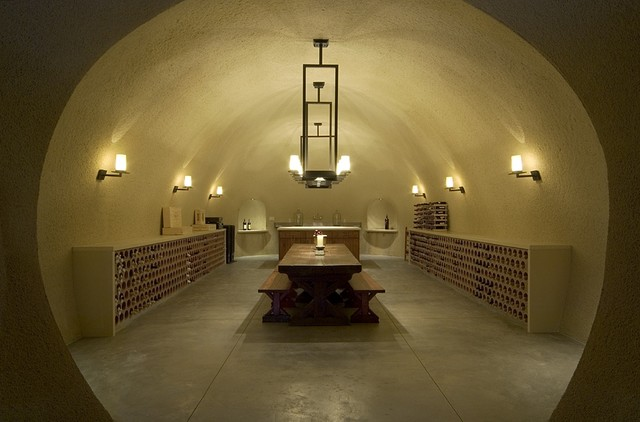 Taylor Lombardo Architects  wine cellar