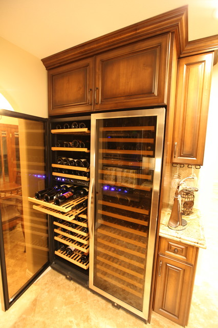 Team Remodeling traditional-wine-cellar