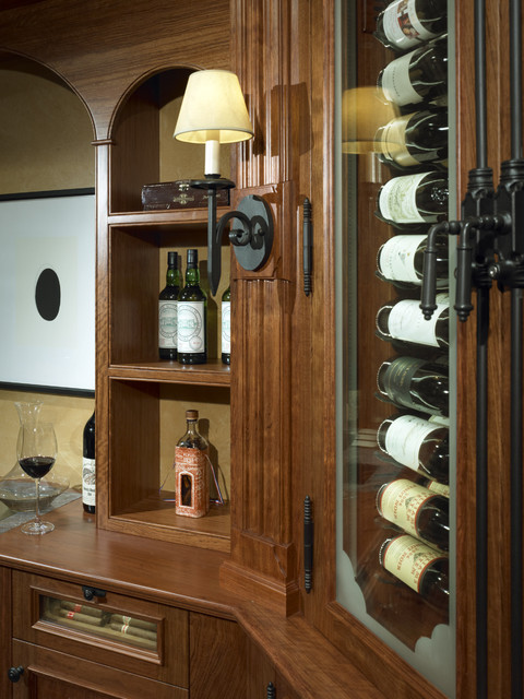 North Shore Wine Cabinet - Traditional - Wine Cellar - other metro - by Benvenuti and Stein