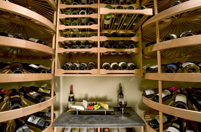 The Alaska Cellar traditional-wine-cellar