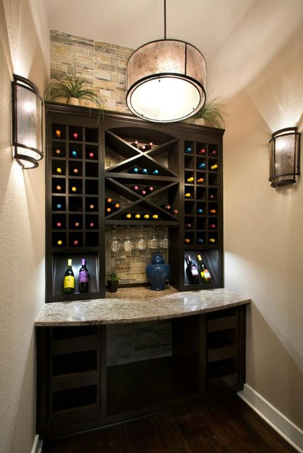 The Canyons at Scenic Loop contemporary-wine-cellar
