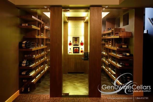 The Genuwine Cube - The Original contemporary-wine-cellar