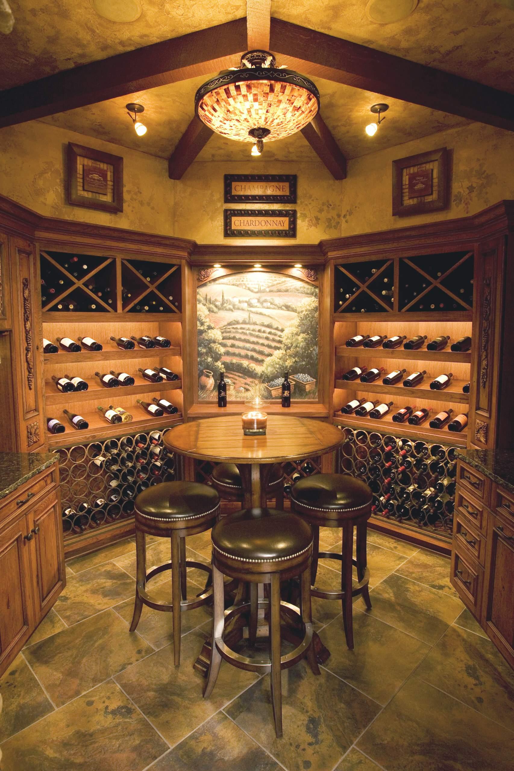 Wine Cellar Lighting Fixture Ideas Houzz