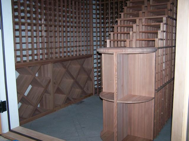 The Magnum Company Inc contemporary-wine-cellar
