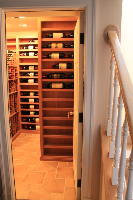 """""""The Maze"""" traditional-wine-cellar"""
