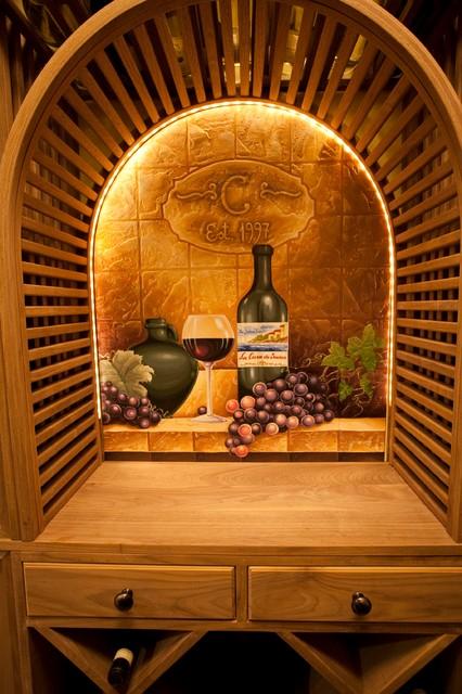 The Strand mediterranean-wine-cellar