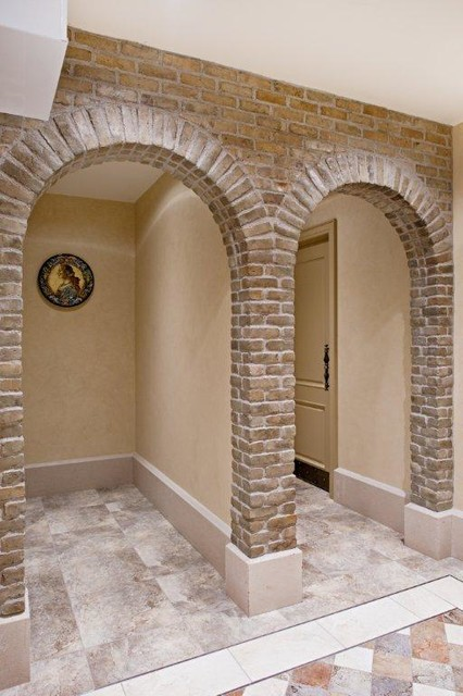 Thin brick veneer modern wine cellar toronto by for Modern brick veneer