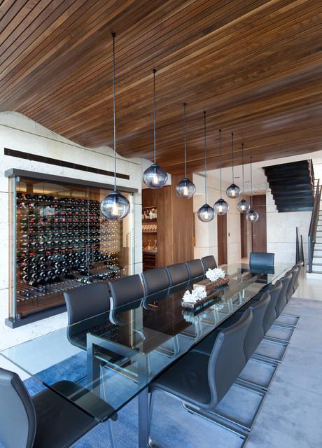 touzet studio wine cellar robin hill contemporary wine cellar by vin de garde modern. Black Bedroom Furniture Sets. Home Design Ideas