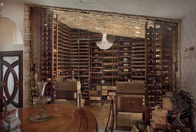 reclaimed wine barrel racking traditional wine cellar barrel wine cellar designs