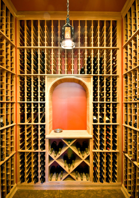 Lorraine Vale traditional-wine-cellar