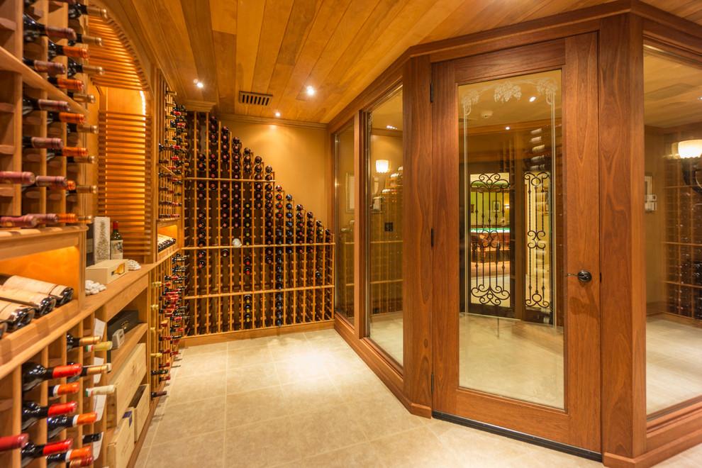 Winebar - Traditional - Wine Cellar - Houston |Wine Cellar Houston