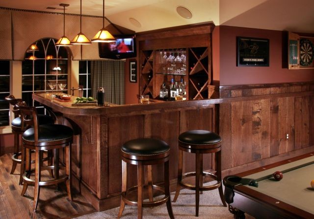 Game Room Photos traditional-wine-cellar